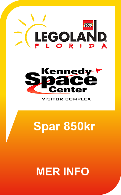 LEGOLAND® Florida Resort - 14 Dager + GRATIS Kennedy Space Center