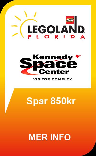 LEGOLAND® Florida Resort - 14 Dager + GRATIS Kennedy Space Center