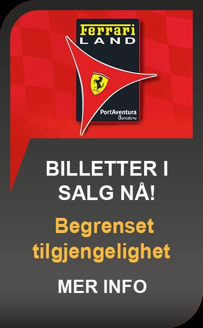 Ferrari land Billetter