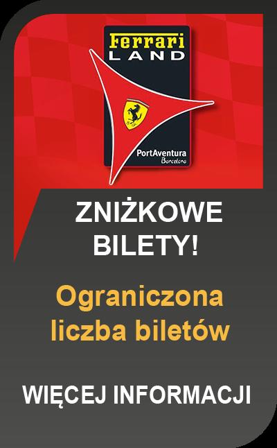 Ferrari Land bilety