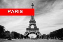 The Eiffel Tower, Paris most famous landmark