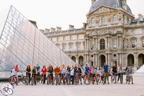Fat Tire Tours Paris Night Bike Tour