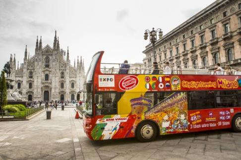 Click to view details and reviews for City Sightseeing Milan Hop On Hop Off Tour.