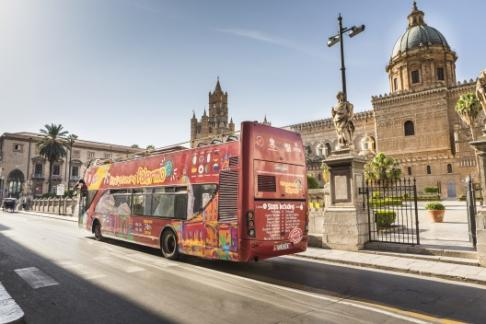 City Sightseeing Palermo Hop On Hop Off Tour
