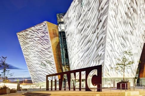Click to view details and reviews for Titanic Belfast And Ss Nomadic Belfast Coffee Map.