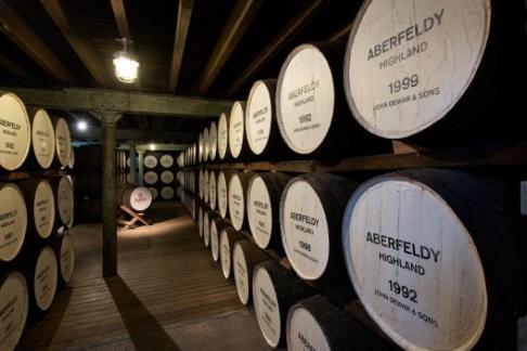 Dewars Aberfeldy Distillery The Aberfeldy Tour