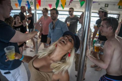 Click to view details and reviews for Champagne Sunset Boat Party Barcelona.