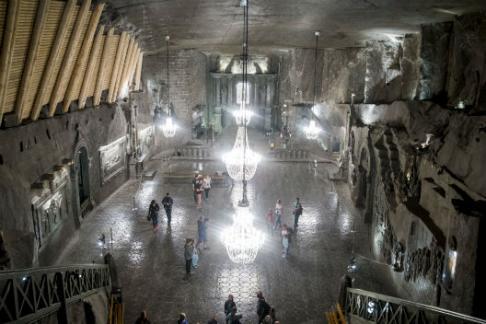 Wieliczka Salt Mine Tour Afternoon Guided Tour