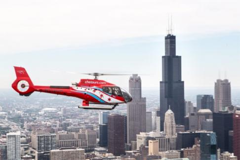 Click to view details and reviews for Chicago Helicopter Experience Twilight Tour.