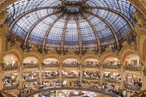 Galeries Lafayette Parisian Shopping Experience Vedettes De Paris