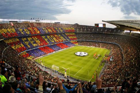 365Tickets DE Barcelona F.C. Nou Camp - Nachmittag Stadion Tour
