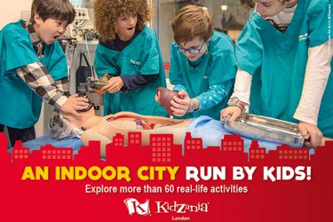 Kidzania London View From The Shard