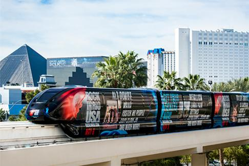 Image For Las Vegas Monorail - 3-Day Unlimited Ride Pass