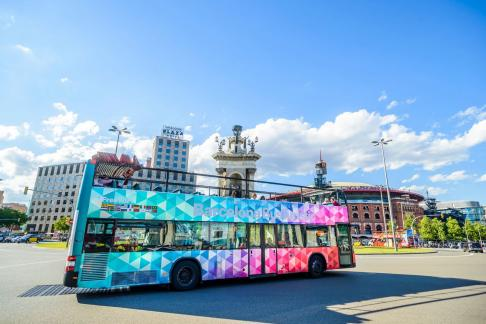 Click to view details and reviews for Barcelona L Aquarium City Sightseeing Barcelona Hop On Hop Off.