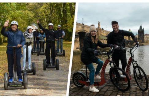 Click to view details and reviews for Ecotours 1 5 Hour Prague Castle Tour E Scooter Or E Bike.