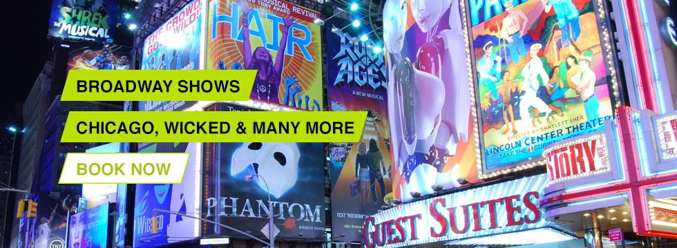Broadway Shows - Wicked Chicago and more...