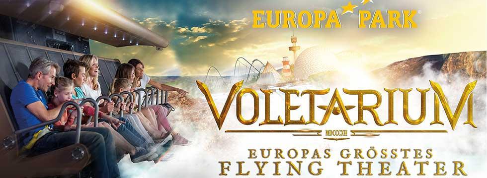 Voletarium – die neue Attraktion im Europa-Park Rust
